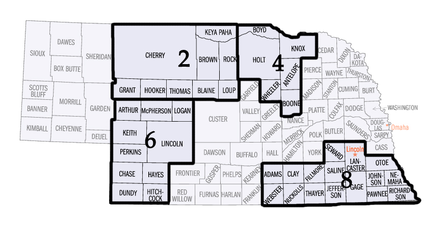 District Map 2,4,6,8