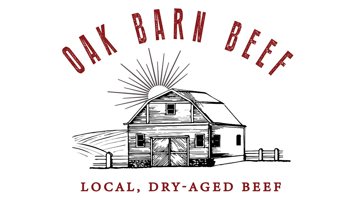 Oak Barn Beef Logo